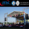 4 Pillars Stage Lighting Truss Pyramid Roof and Speaker Truss Tower