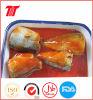 Vegetable Oil or Tomato Sauce Mackerel/Tuna Canned Sardines