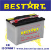 N70z 12V 75ah Dry Charged Auto Battery