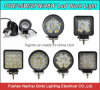 High Quality Waterproof 27W Square/Round Offroad LED Work Light