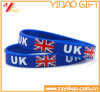 Hot Selling Deboss Silicone Wristband/Silicon Bracelet for Promotion Gift