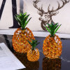 Wholesale Creative Living Room Lattice Cabinet Lucky Decorations Crystal Pineapple