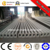 10m Single Arm Street Light Pole, Galvanized Steel Street Lighting Poles