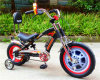 Super Cool 12/16 Inch Red and Black Halei Single Cylinder Gasoline Bicycle Moped Bike (dg-ls-01)