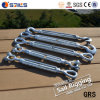 Heavy Duty Us Type Galvanized Wire Rope Turnbuckle