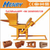 Manual Clay Soil Earth Interlocking Brick Making Machine Hr1-30 in Africa