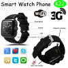 3G WiFi Smart Watch with Heart Rate Monitor (K22)