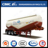 Cimc Huajun W-Type Bulk Cement Tanker Without Air Compressor