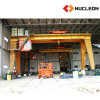 Ce Certified Outdoor Lifting Solution Double Girder Gantry Winch Crane 30 Ton