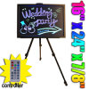 "16""X24"" LED Writing Board Fluorescent Menu Sign W Stand (HD0647)"