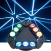 Disco Stage Bar DJ 9*12W RGBW 4in1 LED Beam Moving Head Light