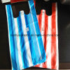 Color Striped T-Shirt Plastic Packaging Bags