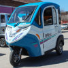 Three Seats Closed Three Wheels Electric Car