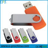 Wholesale Metal Clip Plastic Housing Swivel Pen Drive for Free Sample