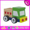 2015 Promotional Toy Truck for Kid, Mini Wooden Toy Trailer Truck Toy for Children, Colorful Wooden Truck Car Toy for Baby W04A097