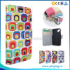 Colorful Leather Wallet Flip Cover Case for Alcatel One Touch Pixi First 4024D