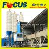 75m3/H PLC Control Climb Bucket Concrete Mixing Plant Hzs75