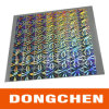 3D Silver Holographic Laser Flash Film Sticker