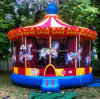 Inflatable Outdoor Carousel Bouncer (BMBC264)