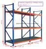 Heavy Duty Warehouse Storage Shelving/Rack for Heavy Goods