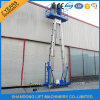 8m Aluminum Telescopic Man Lifting Equipment with Ce