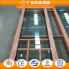 Best Selling Wood-Grain Transfer Surface Aluminum Door