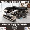 Miami L Shape Leather Sofa for Living Room