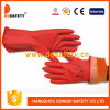 Ddsafety 2017 Green Nitrile Industry Working Safety Gloves