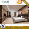 Elegant White Modern Double Bedroom Furniture with Bedstands (HX-8NR2005)
