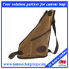 Leisure Casual Waxed Canvas Chest Bag for Traveling and Shopping