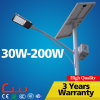 Direct Sale Ce RoHS 50W 8m Outdoor Solar LED Street Lamp