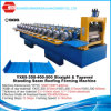 Standing Seam Metal Roof Straight Tapered Panel Roll Forming Machine