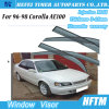 New Car Accessories Injection Mould Door Visor for 96-98 Toyota Corolla Ae100