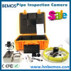 Underwater Pipe Wall Sewer Snake Inspection Camera with 20-100m Cable