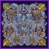 Digital Printing Summer Lady Vintage Silk Scarf (F13-0017)