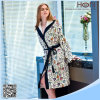 China Supplier 100% Cotton Ladies Bathrobe