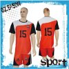 New Season Sublimation Print No Fading Kids Soccer Jersey