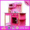 2016 Best Sale Kids Wooden Kitchen Play Set Toy W10c182