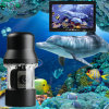 Underwater Fish Camera Color Fish Monitor with 20m Cable 360 Degree Rotate