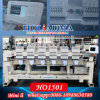 1506 Six Head Fifteen Colors Computerized Computer Embroidery Machine 6 Head Hat China 15 Price