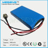 High Quality 11.1V/12V Lithium Ion Battery with PCM