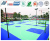 Rubber Flexible Basketball Floor, Spu Sports Flooring for Bastketball Court