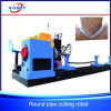 Metal Round Pipe Interesection Line CNC Cutting and Beveling Machine