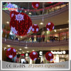 Shopping Mall Decorations Indoor Christmas Ball Motif LED Lights