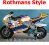 Minimoto, 49cc Pocket Bike, Mini Moto with Rothmans Style Sticker (DR160)