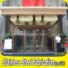 Luxury Commercial Metal Stainless Steel Glass Entry Front Door