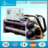 Water Cooled Screw Flooded Ground Source Heat Pump Water Chiller
