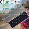 70W LED All in One Solar Motion Sensor Street Light