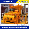Js500 Twin Shaft Mixer Machine 0.50m3 Concrete Mixer