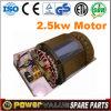 1kw 2kw 2.5kw 2.8kw 3kw 4kw 5kw 6kw Brushed Electric Copper Motor for Generator Single Phase Motor (GGS-EMT)
